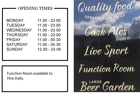 The Hassocks Hotel Function Room